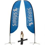 Feather Flag Large Double Sided
