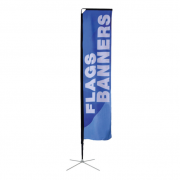 Square Flag Medium Single Sided