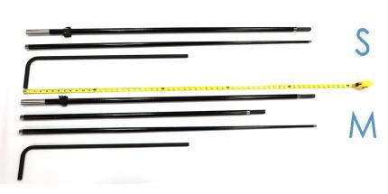 Ad Flag Fabric Glass Poles