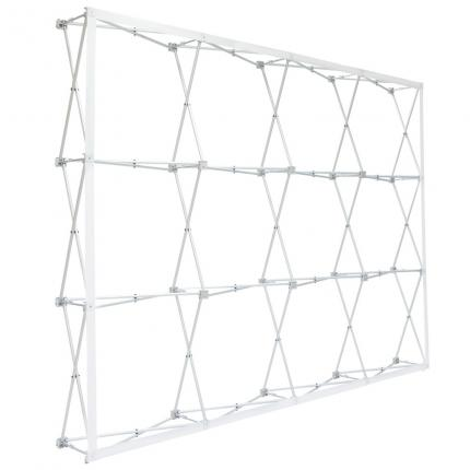 Fabric Pop Up Display 10ft Straight Frame